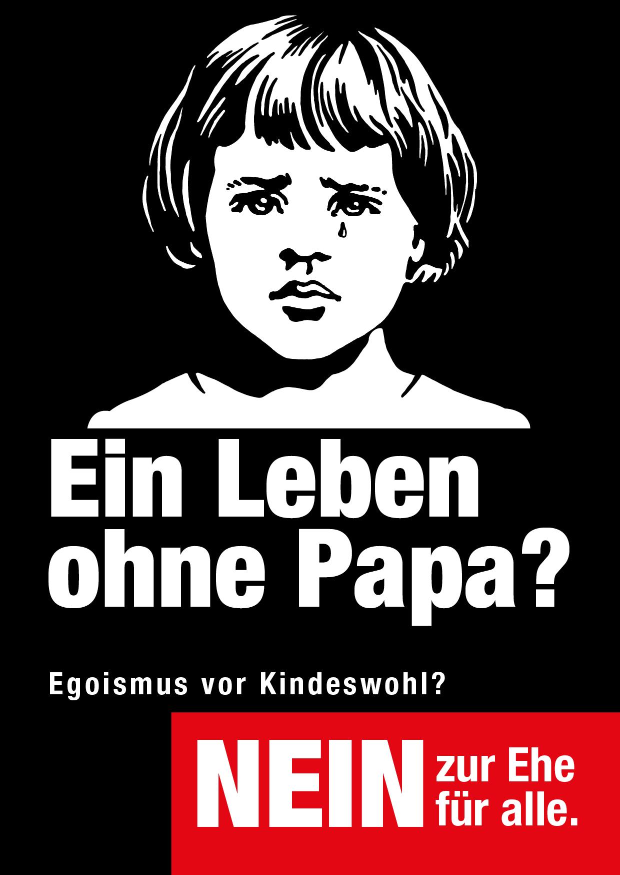 Sujet «Kein Papa 3»