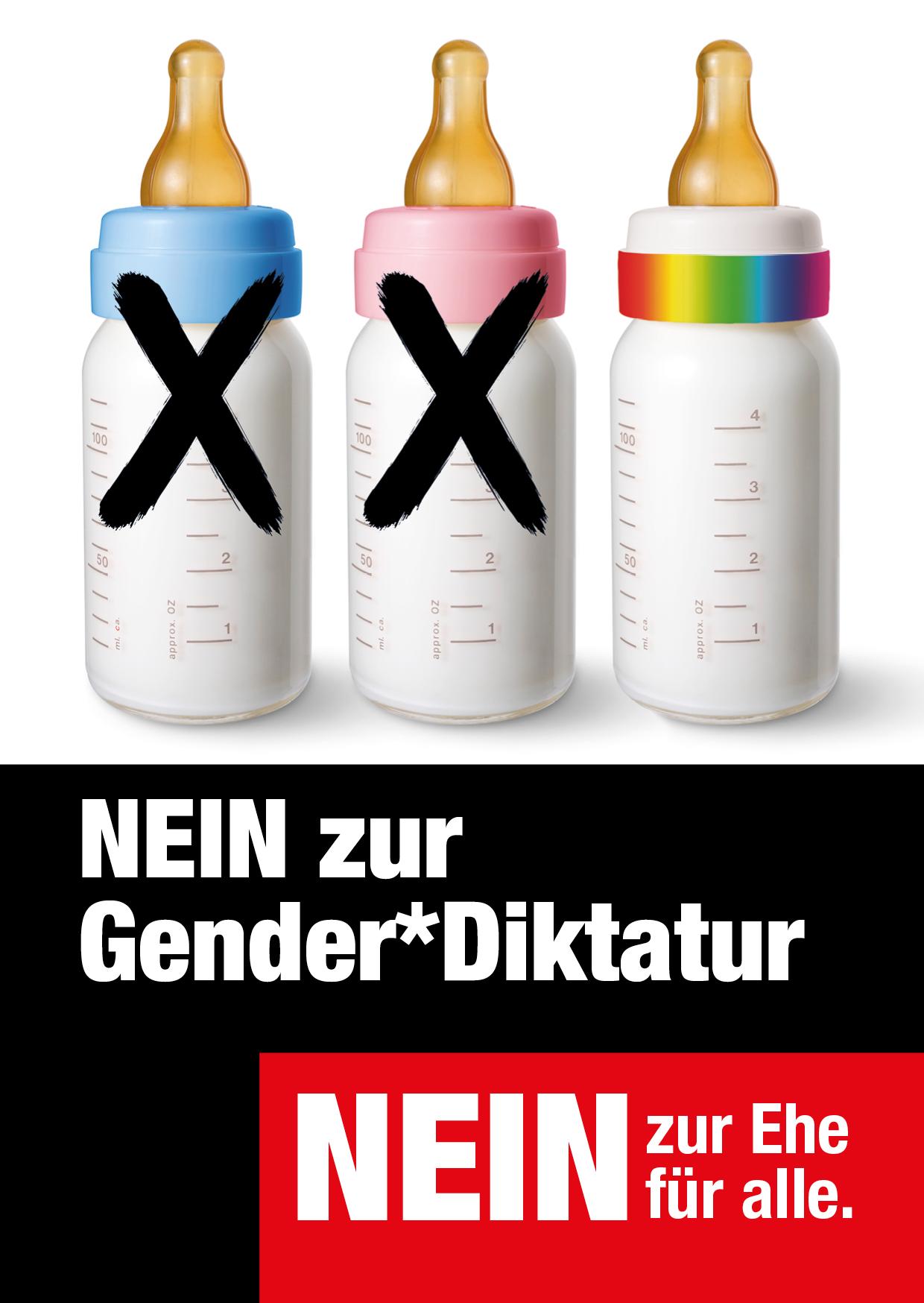 Sujet «Gender-Diktatur Nein»